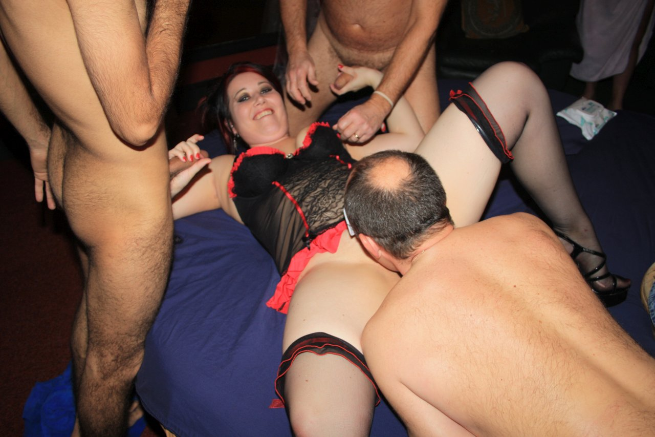 Mature gangbang amateur whore